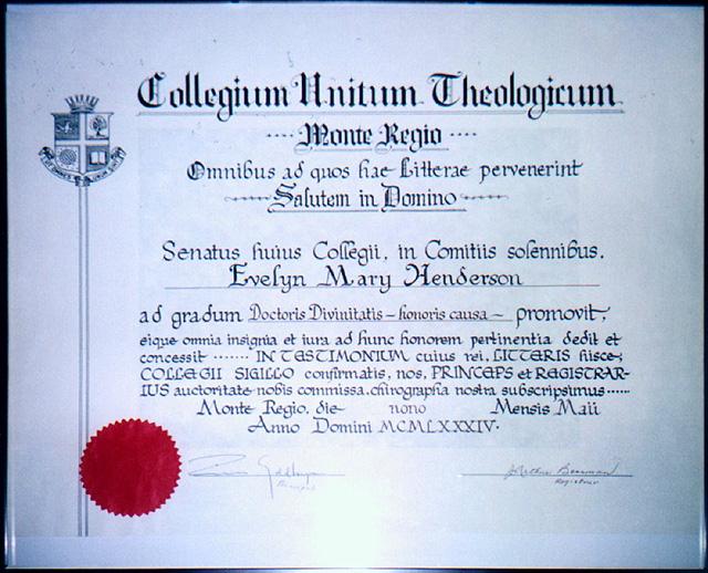 leonard family official documents  diplomas  certificates